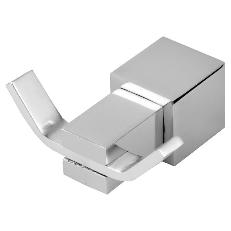 6303 - Cabide Acqua Quadrado em Alumínio Anodizado