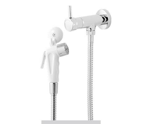 Ducha Higiênica Luxo com Gatilho ABS - 1/2 ou 3/4