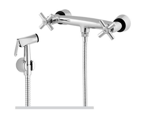 2220 - Misturador para Ducha Higiênica com Gatilho Metal - 1/2 ou 3/4