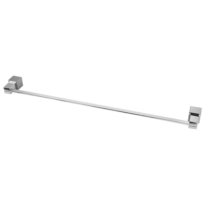 6301 - Porta Toalha Reto Acqua Quadrado em Alumínio Anodizado