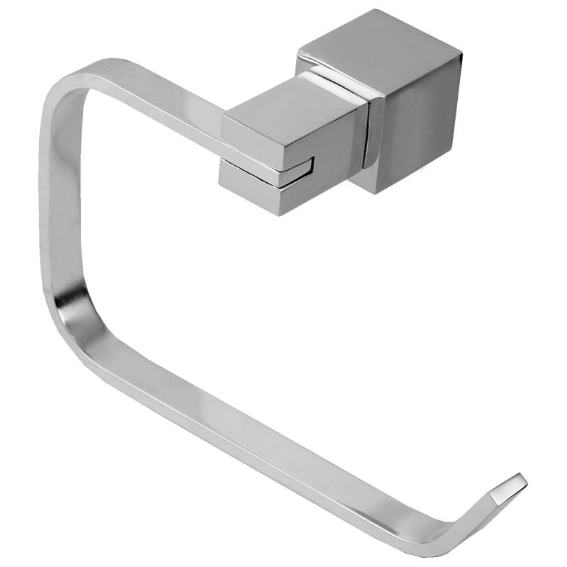 6302 - Porta Toalha Rosto Acqua Quadrado em Alumínio Anodizado