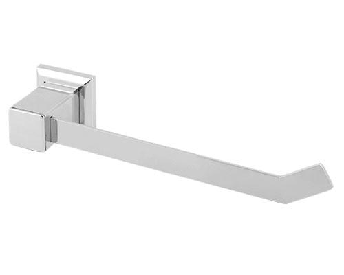 76002 - Porta Toalha Rosto Quadratta em Aço Inox