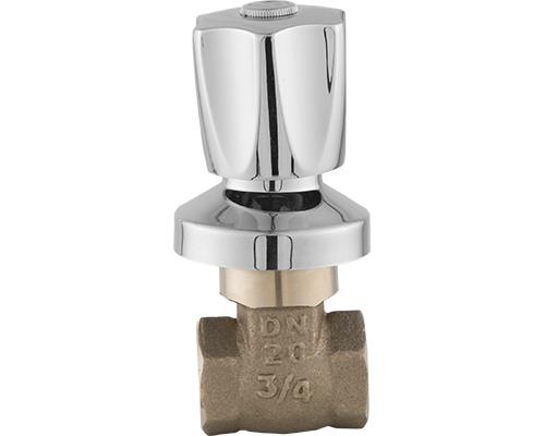 Registro de Gaveta com Canopla Arenito e Acabamento em Metal - DN15 - 1/2 / DN20 - 3/4 / DN25 - 1 / DN32 - 1.1/4 / DN 40 - 1.1/2