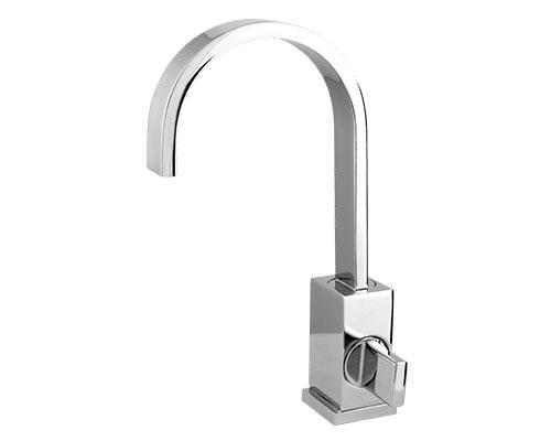 5440 - Torneira Cozinha / Lavatório Plena Bica Móvel Retangular 35 mm com Arejador Fixo Bancada