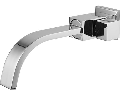 4420 - Torneira Cozinha / Lavatório Quadratta Bica Móvel Retangular 35mm com Arejador Fixo Parede - 1/2 ou 3/4