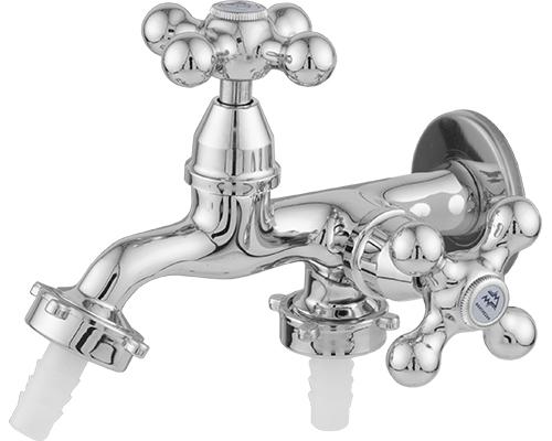 1428 - Torneira para Máquina de Lavar com Bico Plástico - 1/2 ou 3/4